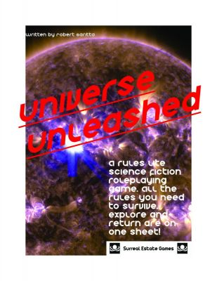 Hey all,  I've not been active here because I was relearning publishing–layouts, editing and all that. I also redid Universe Unleashed. I'm pretty happy with the new version for publishing and I'm ready to run some more stories on Main Mission as they hurtle out of the Solar System!