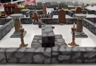 A picture from my B/X game at my FLGS