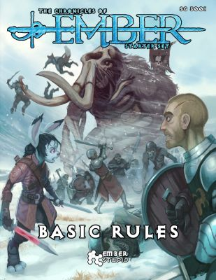 Hey everyone! The Basic Rules rulebooks for the Starter Set have been printed and are now on the way! They were in Chicago as of 8:00 AM, and they should be here soon! Go UPS! Everything's coming together! Excited!! The Starter Set officially launches on Saturday, August 1st! THREE DAYS!!  https://chroniclesofember.com/starter-set/